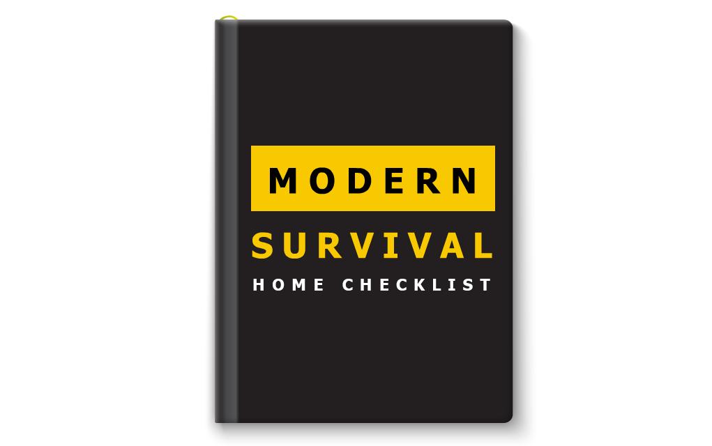 Modern Survival Home Checklist